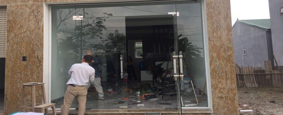Cửa kính cường lực tại TP Vinh