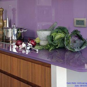 kính màu ốp bếp ở Vinh