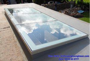 mái kính giếng trời vinh nghệ an